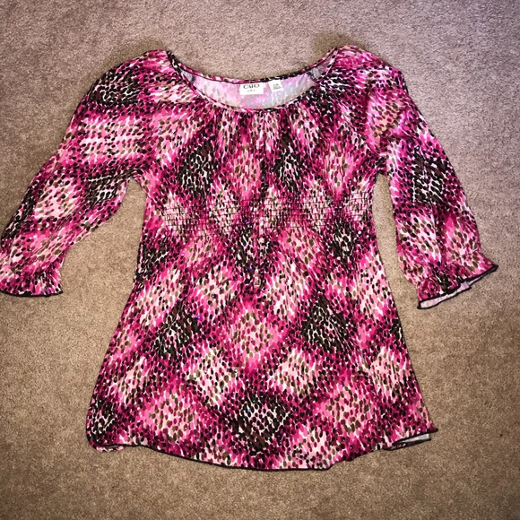 Cato Other - (3/$15) Cato Girls tie-back sparkle shirt XL 16